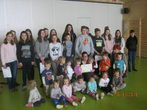 IMG 6608 300x225 - Obisk mladinskega pevskega zbora osnovne šole Notranjski Odred